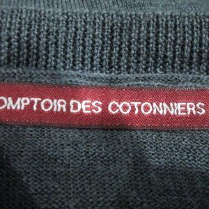 """Comptoir Des Cotonniers Sweaters - Long Sleeve """"Fileon"""" Embellished Wool Sweater"""